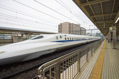 Japan railway in Tokyo, Japan Stock Photography