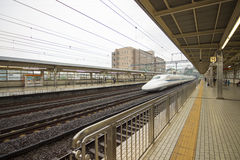 Japan railway in Tokyo, Japan Stock Photos