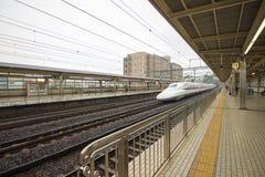 Japan railway in Tokyo, Japan Stock Photos