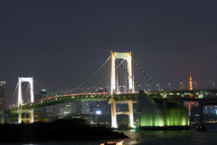 Japan : Rainbow Bridge Royalty Free Stock Photos