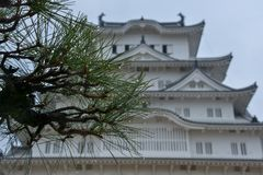 Japan-Reise, Himeji-Schloss, im April 2018 stockfoto