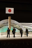 Japan remembers victims of Tsunami. Stock Photo