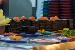 Japan restaurant belt buffet Stock Photo