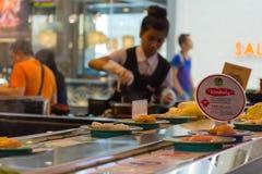 Japan restaurant belt buffet Stock Photography