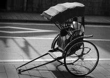 japan rickshaw Royaltyfri Fotografi