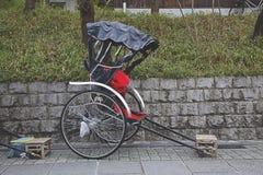 Japan rickshaw Stock Photography
