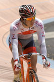 Japan Rider at Asian Cycling Championships 2012 Stock Photo