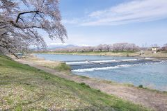 Japan river Royalty Free Stock Image