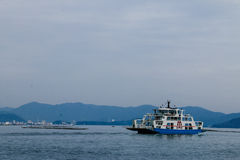 Japan-Ro-Rofähre Lizenzfreies Stockbild