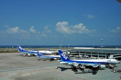 Japan's ANA Airlines stock photos