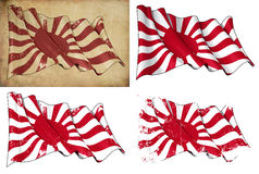 Japan's Imperial Navy Historic Flag Royalty Free Stock Image