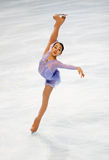 Japan's Mao Asada does Kerrigan spiral Stock Photography