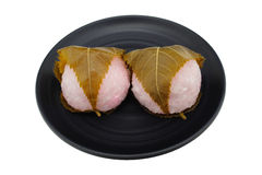 Japan Sakura Mochi Stock Photography