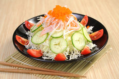 Japan salad Royalty Free Stock Images
