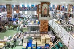Japan, Sapporo - JAN 13, 2017 : Ishiya, chocolate factory Stock Photo