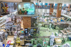 Japan, Sapporo - 13. Januar 2017: Ishiya, Schokoladenfabrik Stockfoto