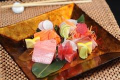 Japan sashimi set. In studio Royalty Free Stock Photography