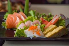 Japan sashimi set Royalty Free Stock Photo