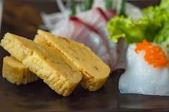 Japan sashimi set Royalty Free Stock Photos