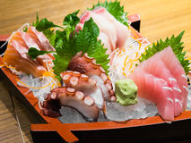 Japan sashimi set Stock Images