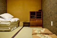 Japan-Schlafzimmer lizenzfreie stockbilder