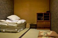 Japan-Schlafzimmer- und -bettwäschesätze lizenzfreie stockfotos