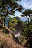 Japan Sea. Autumn 3. Far from Vladivostok. Russia. Far-East. Vityaz stock photo