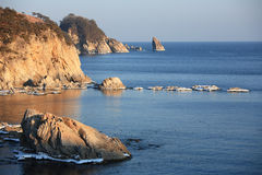 Japan sea. Island 9 Royalty Free Stock Image