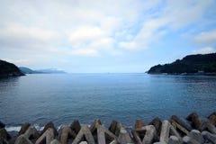 The Japan Sea of midsummer Royalty Free Stock Photo