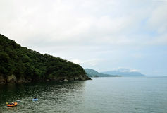 The Japan Sea of midsummer Royalty Free Stock Photography