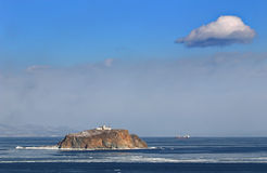 Japan sea in winter 9. Near Vladivostok, Russia, Far-East. Winter Royalty Free Stock Photos