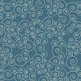 Japan seamless pattern with waves. Abstract backgr Royalty Free Stock Photo