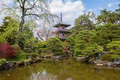 Japan. Sendai. The Rinnoji Temple. Royalty Free Stock Photos