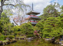 Japan. Sendai. The Rinnoji Temple. Stock Image