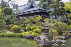 Japan. Sendai. The Rinnoji Temple. Royalty Free Stock Images
