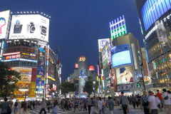 Japan : Shibuya Royalty Free Stock Photo