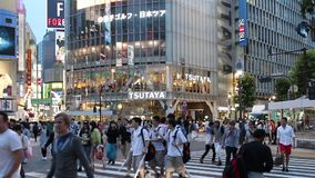 Japan : Shibuya stock footage