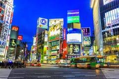 japan shibuya tokyo Arkivfoto