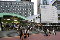 Japan : Shimbashi Station Royalty Free Stock Image