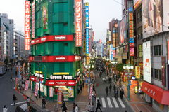 Japan : Shinjuku royalty free stock images