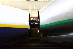 japan shinkansen Arkivfoto