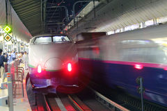 Japan : Shinkansen Stock Image