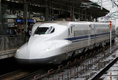 Japan Shinkansen Royalty Free Stock Images