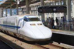 Japan : Shinkansen Royalty Free Stock Photo