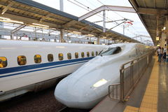 Japan : Shinkansen Royalty Free Stock Image