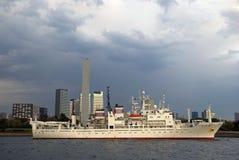 japan ship tokyo Fotografering för Bildbyråer
