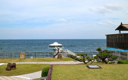 Japan Shirahama strand Royaltyfri Bild