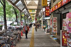 Japan shopping Royalty Free Stock Photo