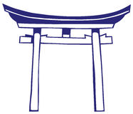 Japan shrine Stock Images