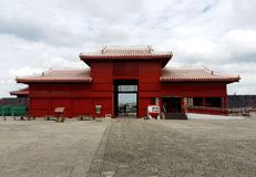 Japan Shuri slott arkivfoton